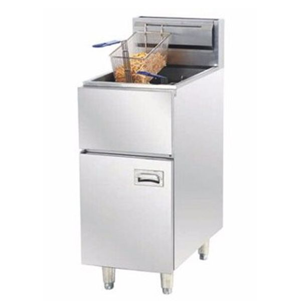 chinacoal03 3.Vertical Restaurant Gas Deep Fryer Machine Keywords: fryer, deep fryer ,  as deep fryer , gas fryer , gas pressure fryer , deep fryer machine , commercial gas fryer , gas chips fryer, chicken deep fryer machine , professional deep fryer Vertical Restaurant Gas Deep Fryer Machine Introduction Product Features: 1. International popular style  2. Elegant Appearance 3. Made of stainless steel, durable  4. Efficient, Energy-saving, Practical  5. Electric components are of good…