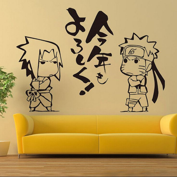 12 best Naruto wall decals images on Pinterest | Wall clings, Wall ...