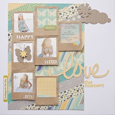 Jillibean Cold Avocado Soup layout by Katie Rose.