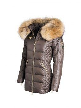 Shop Woman jacket | ROCKANDBLUE - Eve dark bown