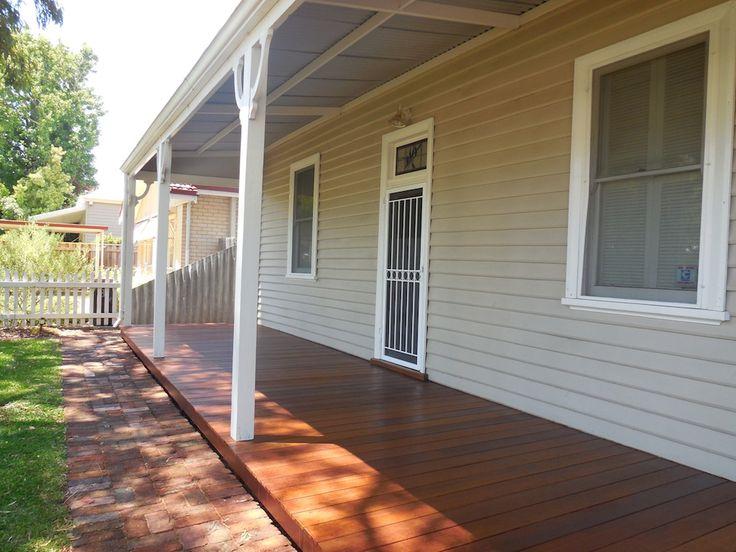 Front veranda timber deck by Castlegate Home Improvements Perth