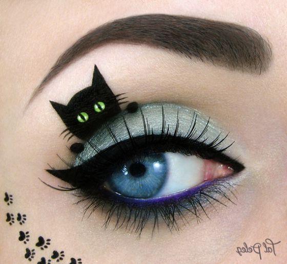 Макияж ведьмы на хэллоуин (фото)
