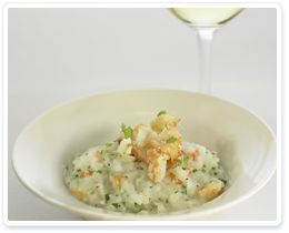 Crab Risotto with Fine Herbs - Pair with La Crema Chardonnay