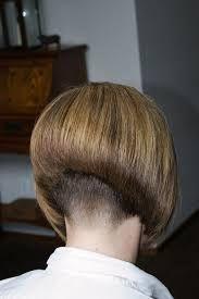 Image result for ultimate shaved nape bob