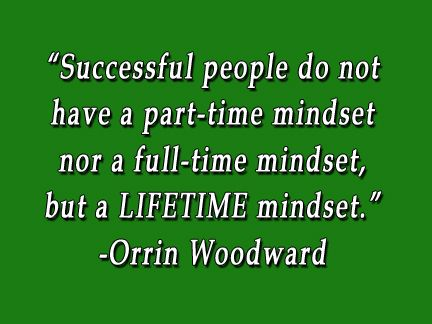 Great The Mindset Of A Successful Person