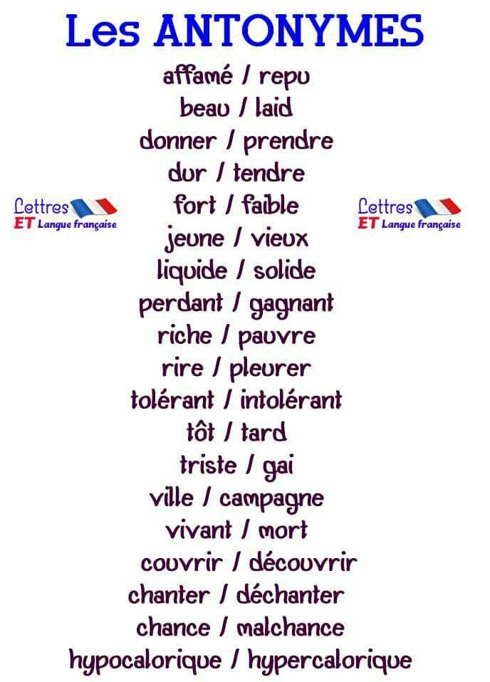 Vocabulaire French Expressions Apprendre L Anglais Vocabulaire