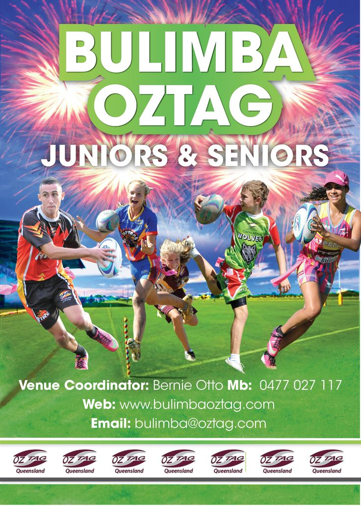 Contact Details for Bulimba Oztag