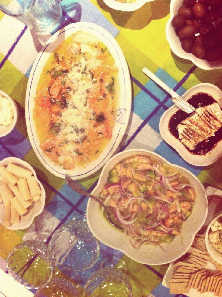 """Mmmmmmmmmmartes! """"Carpaccio & Ceviche"""" #Marecosta #Salmón #gourmet #cocina"""