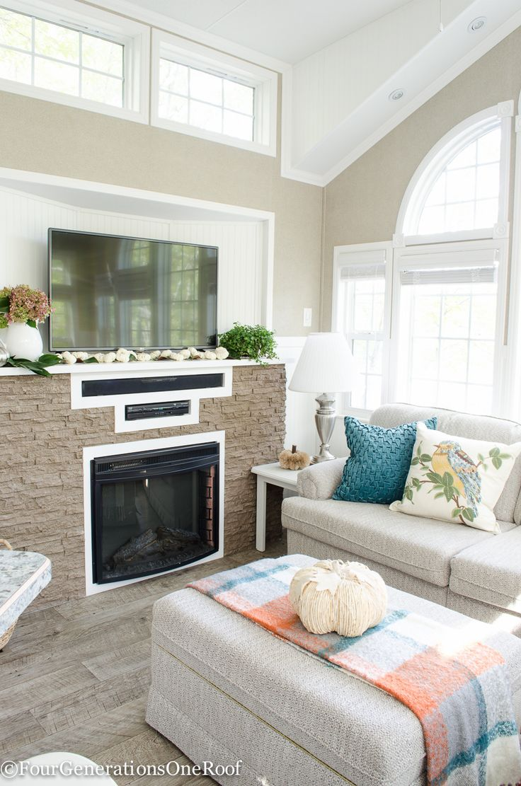 255 best Fall Decorating Ideas images on Pinterest | Fall mantels ...