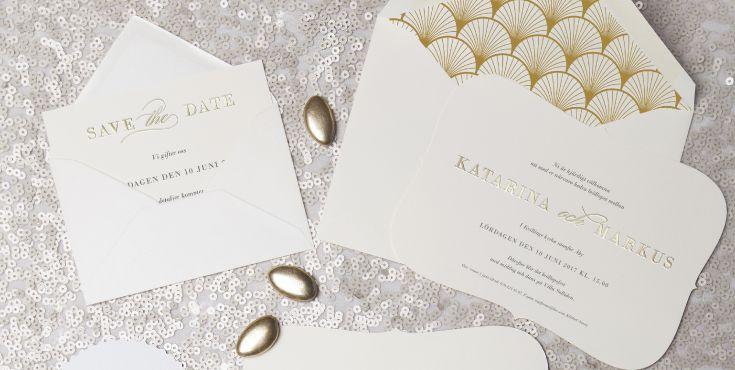 Inbjudningskort från Calligraphen / Bröllop / Bryllup / Inbjudan / Inbjudningskort / Wedding Invitation / Invitasjoner