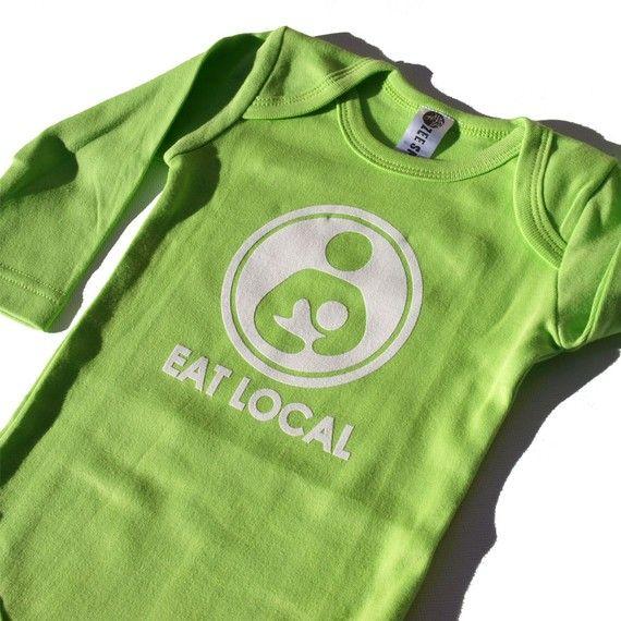 Eat Local (#breastfeeding) LOVE IT