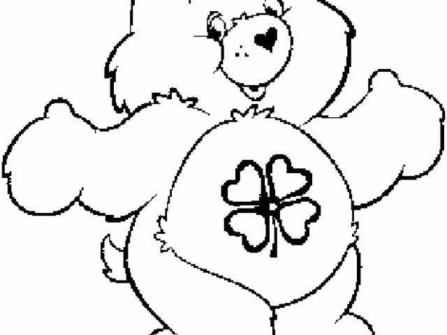 baby care bears coloring pages - photo #23