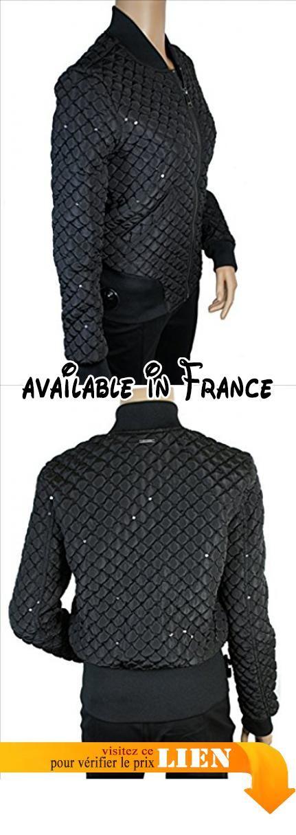 B01MZ4SGJI : XS blousons ete guess jeans christine noir. Composition : Polyester 100%. Lavage : A la main. Référence : W64L08 W7UN0 A996