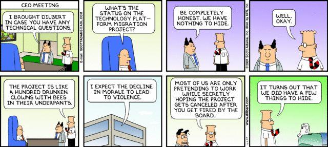 Dilbert project management