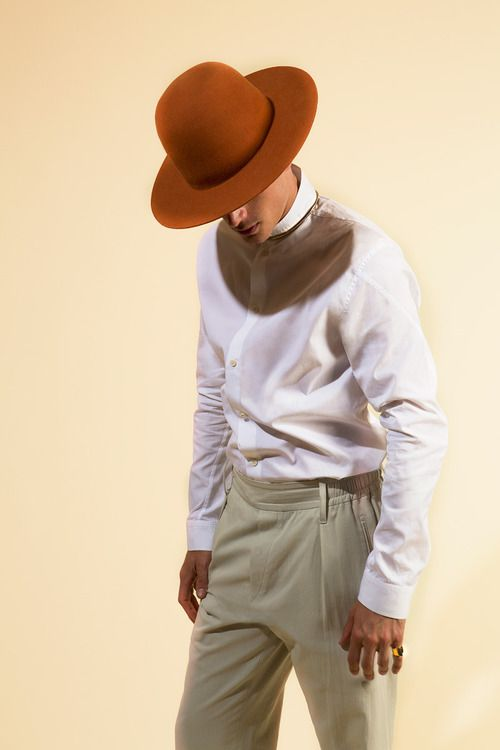 We love the neutrals in this outfit. #style #fashion #mensfashion