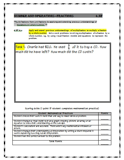 Georgia fifth grade writing assessment samples
