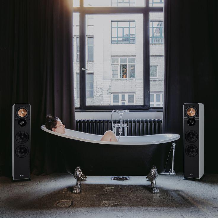 Ultima 40  Teufel Stereo-Lautsprecher Ultima 40 Mk3 -HiFi-Standlautsprecher-Paar der Spitzenklasse aus unserer beliebtesten Lautsprecher-Serie. Unsere beliebteste Standbox haben wir behutsam optimiert und verfeinert. Gleich geblieben ist das unschlagbare Preis/Klangverhältnis. So wird man zur Legende. Jetzt entdecken! <a class=