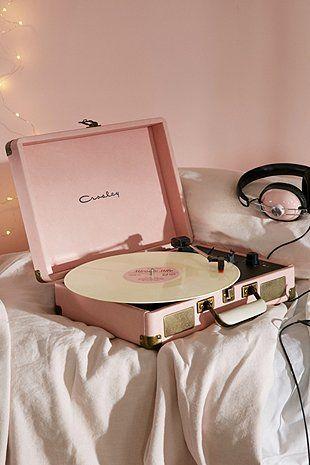 Crosley - Tourne-disque Cruiser rose avec prise britannique