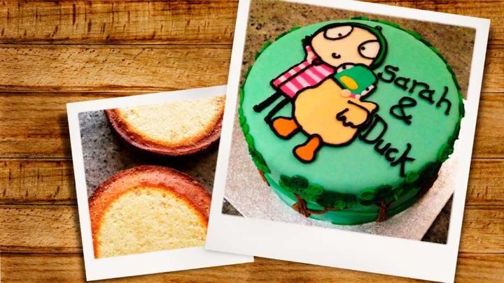 CBeebies-themed birthday cake by Great British Bake Off finalist, Richard Burr.