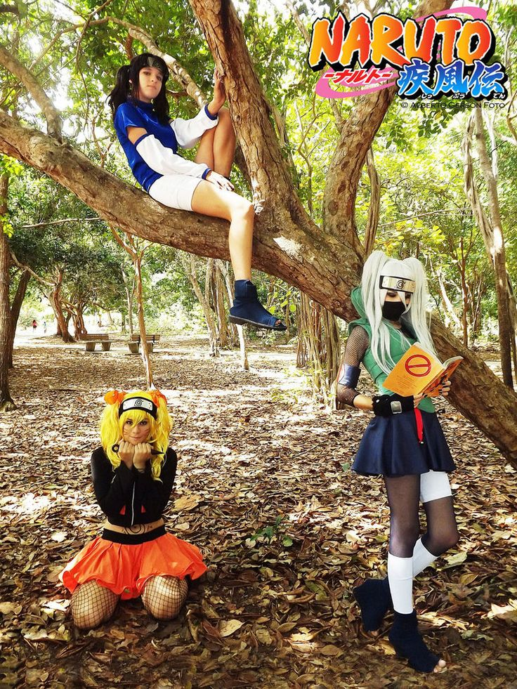 Naruto gender bender cosplay.  I'd want to do a fem Kakashi!