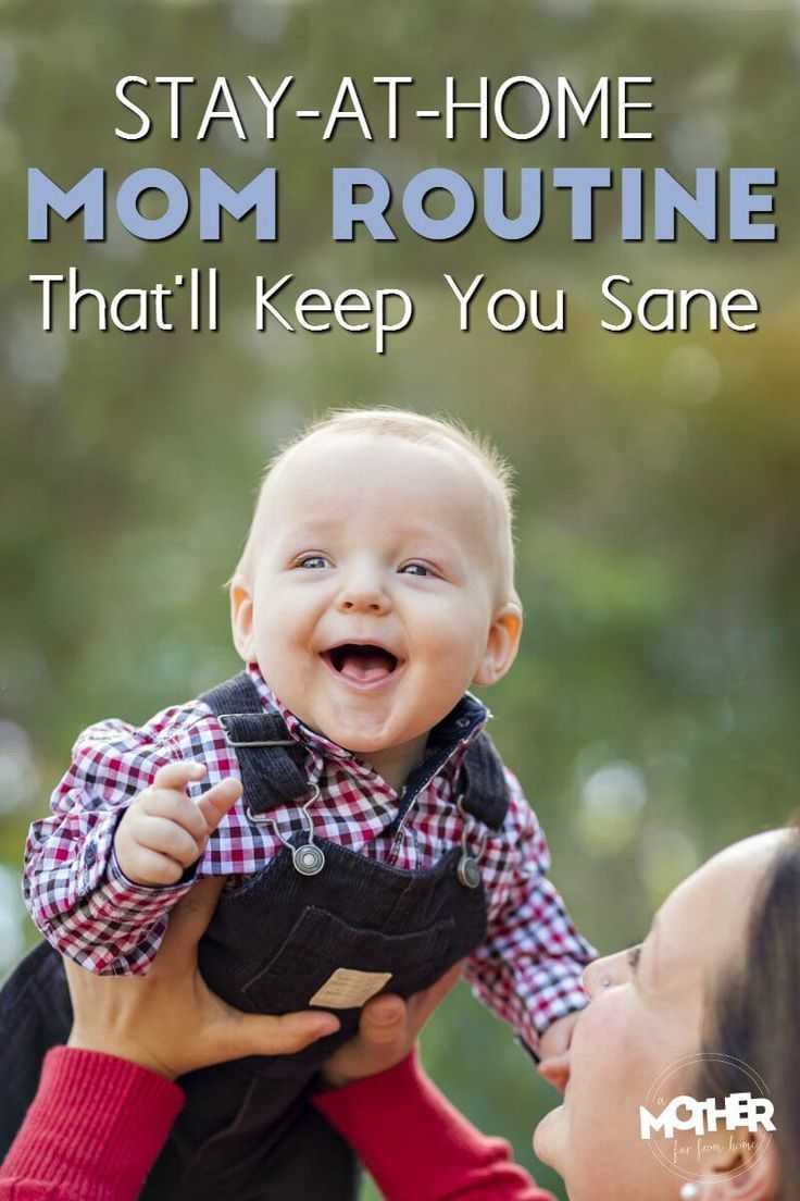 Trying to find a good stay at home mom schedule? This will help you figure out exactly how to craft your days.