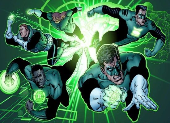 Green Lantern Reboot Rumored To Feature Multiple Green Lanterns