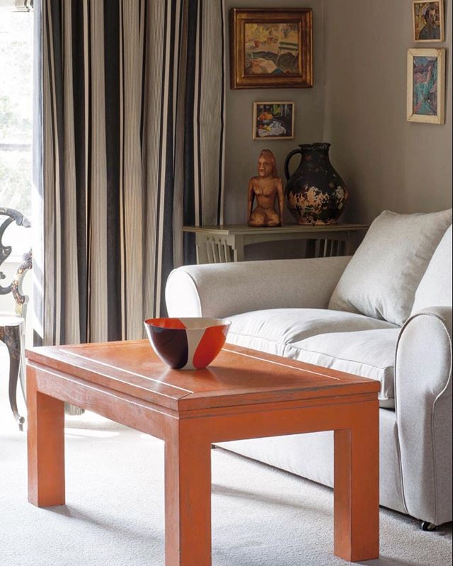 French Linen Chalk Paint Coffee Table: 18 Best Barcelona Orange Images On Pinterest