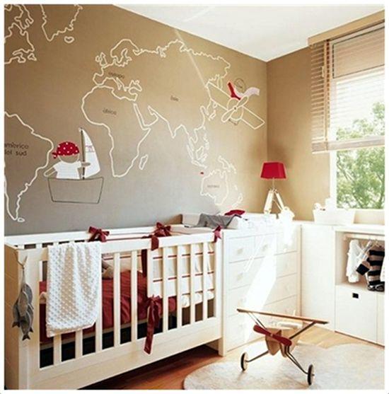 Emérita Desastre: Decoración: Más habitaciones para Bebés