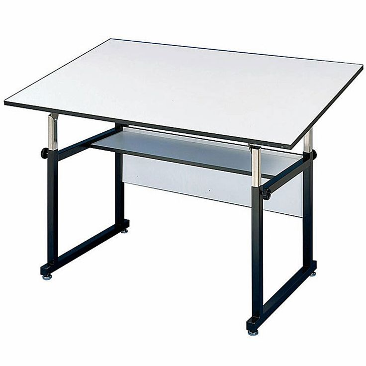 "48"" x 36"" Adjustable Height Drafting Table"