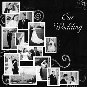 great idea for a black & white page