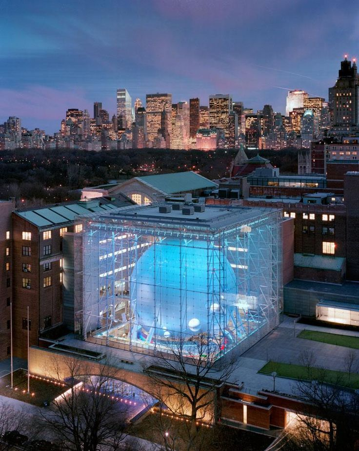 Rose Center for Earth and Space is a part of the American Museum of Natural History in New York City