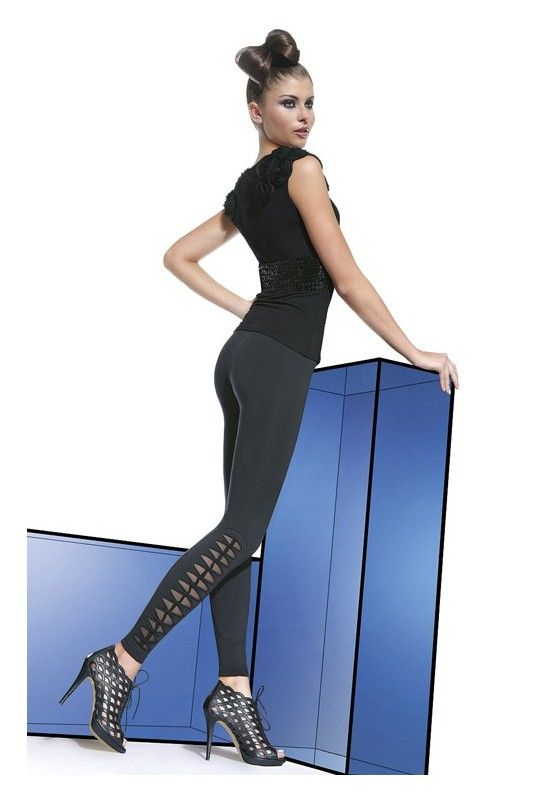 STELLA Legging Bas Bleu | Leggings, Leggings noirs et Idées