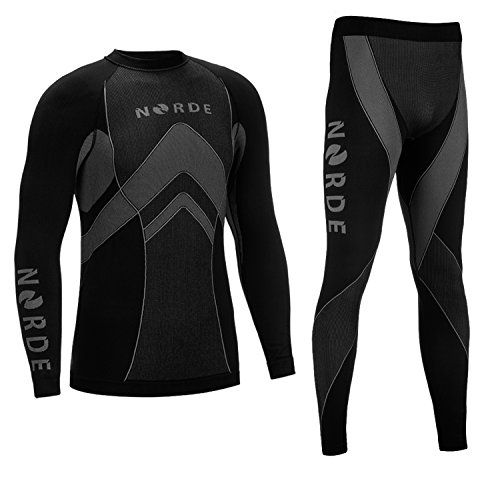 THERMOTECH NORDE Functional Thermal Underwear Breathable Active Base Layer SET