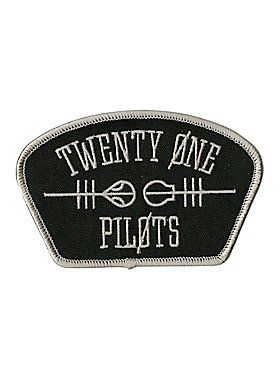 Rep your favorite band, Twenty One Pilots, with this shoulder style patch…