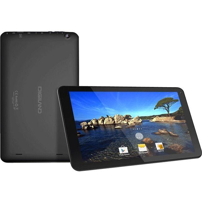 "Digi-land DL1008M 16 GB Tablet - 10.1"" - Wireless LAN - ARM Cortex A7"