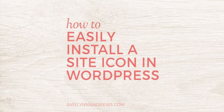 Are you missing this branding opportunity? How to easily install a site icon (or favicon) in WordPress.