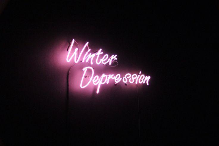 Winter Depression | neon