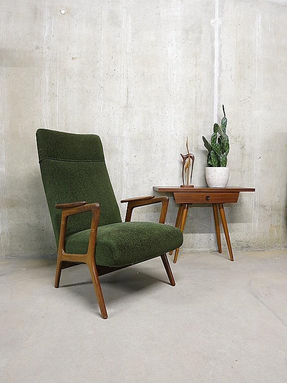 Yngve Ekstrom; 'Ruster' Arm Chair for Pastoe, 1950s.