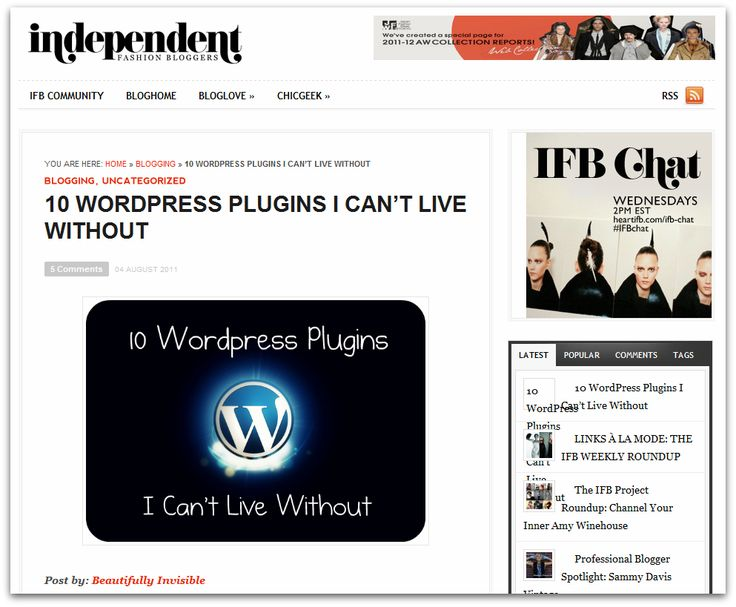 18 great plugins for Wordpress via Beautifully Invisible.:  Internet Site,  Website, Bloggi Stuff, Web Site, Beautiful Invisible