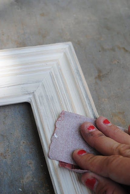DIY Shabby Chic Frames - need lotsa these for my new place!