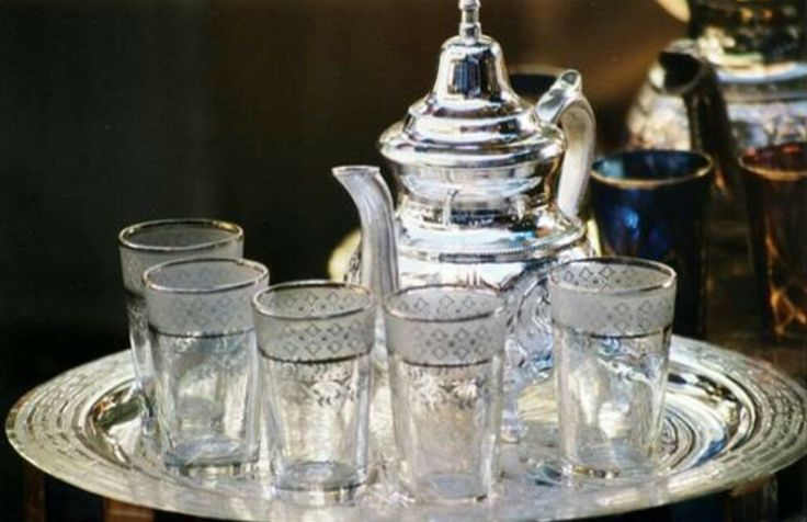 Marokkaans theeservies