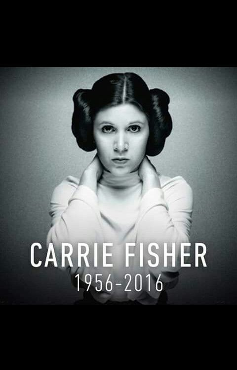 Carrie Fisher you will be forever love and remembered! Love u ❤️