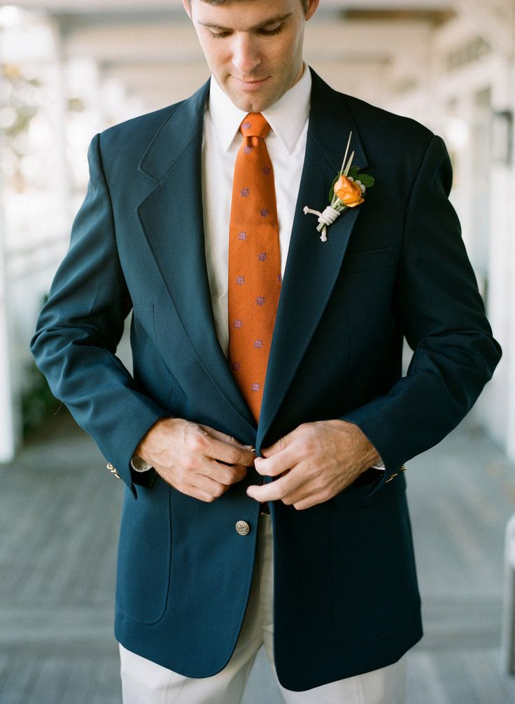 #Groom #Fall Attire | Cape Cod Wedding from  Stacey Hedman & Lovely Little Details | See More on SMP: http://stylemepretty.com/2013/01/28/cape-cod-wedding-from-lovely-little-details/