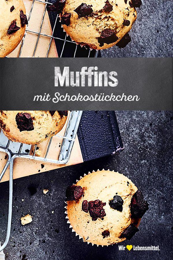 Muffins Mit Schokostuckchen Rezept Edeka Rezept In 2020 Muffins Mit Schokostuckchen Schokostuckchen Muffins