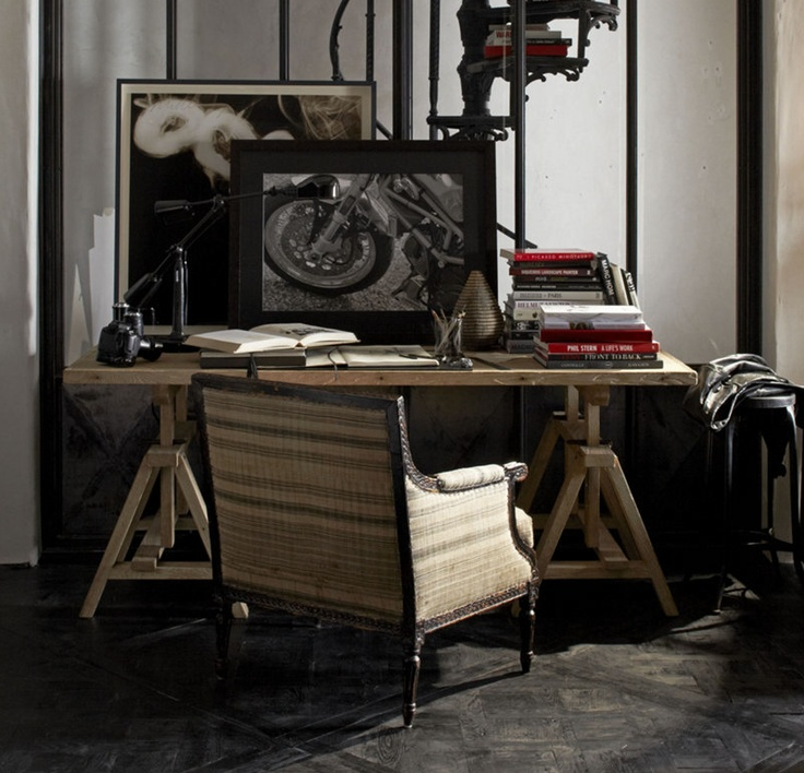 321 best ralph lauren home collection images on pinterest for Ralph lauren office furniture