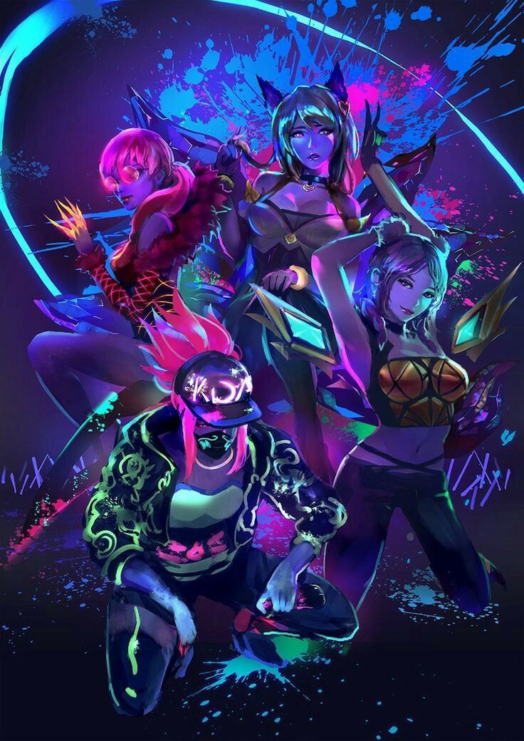 Pin By A On Kda In 2019 Lol League Of Legends League Of