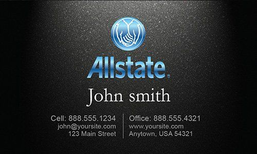 State Farm Insurance Card Template Lovely Insurance Agent Business Card In 2020 American Family Insurance State Farm Insurance Printable Business Cards