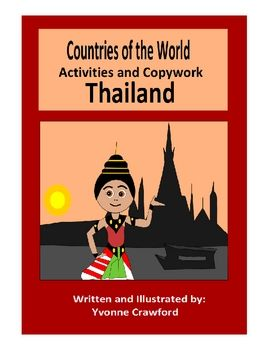 This booklet focuses on the country of Thailand.  Your students will learn facts about Thailand while practicing their manuscript and cursive handw...