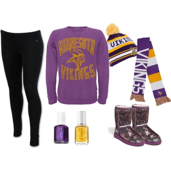 """Minnesota Vikings <3"" by gonnamakeyousting on Polyvore"
