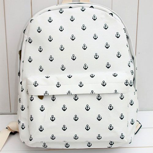 Little Anchor Canvas Backpack
